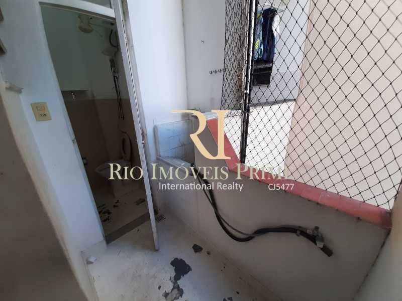 ÁREA SERVIÇO - Apartamento para venda e aluguel Rua Engenheiro Ernani Cotrim,Tijuca, Rio de Janeiro - R$ 410.000 - RPAP20240 - 16