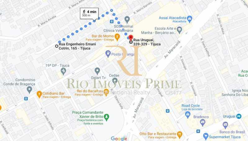 DIST SUPERM ASSAÍ - Apartamento para venda e aluguel Rua Engenheiro Ernani Cotrim,Tijuca, Rio de Janeiro - R$ 410.000 - RPAP20240 - 20