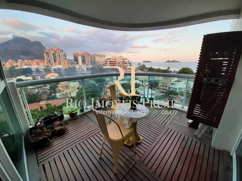 VARANDA - Flat 1 quarto à venda Barra da Tijuca, Rio de Janeiro - R$ 749.900 - RPFL10108 - 1