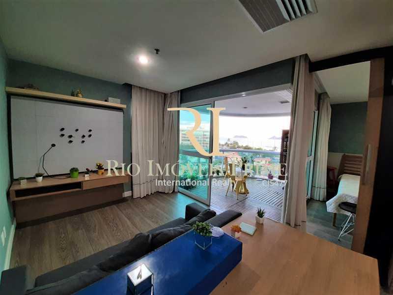 SALA - Flat 1 quarto à venda Barra da Tijuca, Rio de Janeiro - R$ 749.900 - RPFL10108 - 8