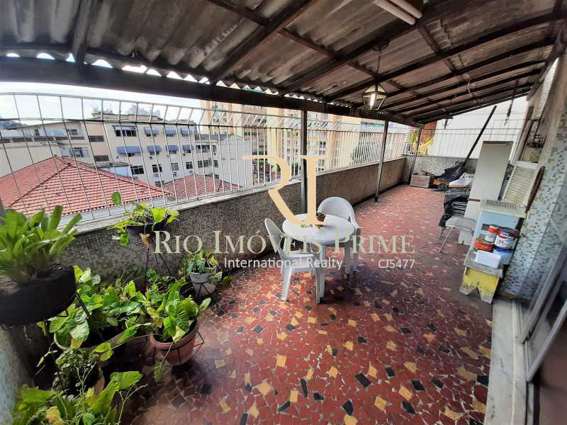 VARANDÃO - Cobertura à venda Rua Jorge Rudge,Vila Isabel, Rio de Janeiro - R$ 695.000 - RPCO30027 - 3