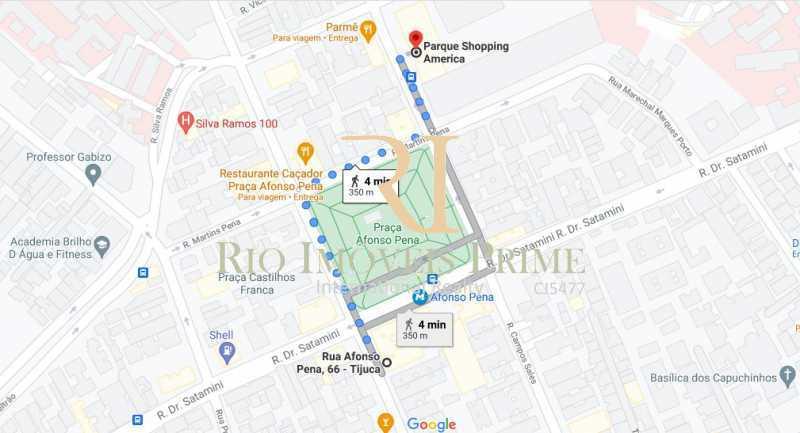 DIST SHOPPING AMERICA - Apartamento 3 quartos para alugar Tijuca, Rio de Janeiro - R$ 2.300 - RPAP30152 - 21