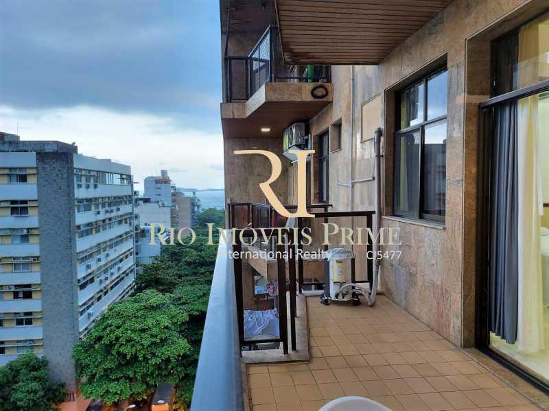 VARANDA. - Flat 1 quarto para alugar Leblon, Rio de Janeiro - R$ 4.200 - RPFL10109 - 1