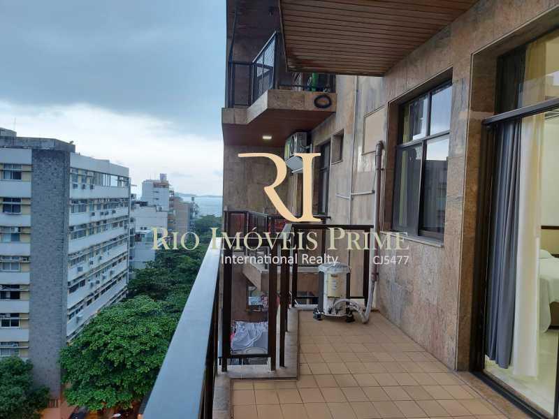 VARANDA. - Flat 1 quarto para alugar Leblon, Rio de Janeiro - R$ 4.200 - RPFL10109 - 3