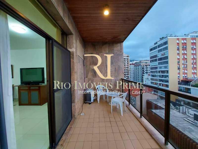 VARANDA. - Flat 1 quarto para alugar Leblon, Rio de Janeiro - R$ 4.200 - RPFL10109 - 4