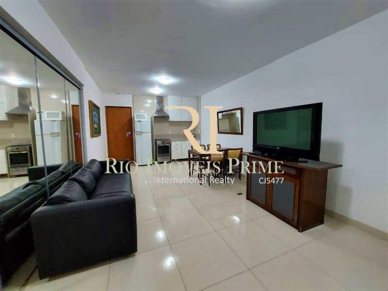 SALA. - Flat 1 quarto para alugar Leblon, Rio de Janeiro - R$ 4.200 - RPFL10109 - 5
