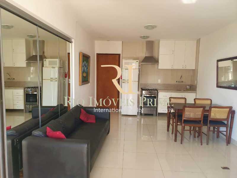 SALA. - Flat 1 quarto para alugar Leblon, Rio de Janeiro - R$ 4.200 - RPFL10109 - 7