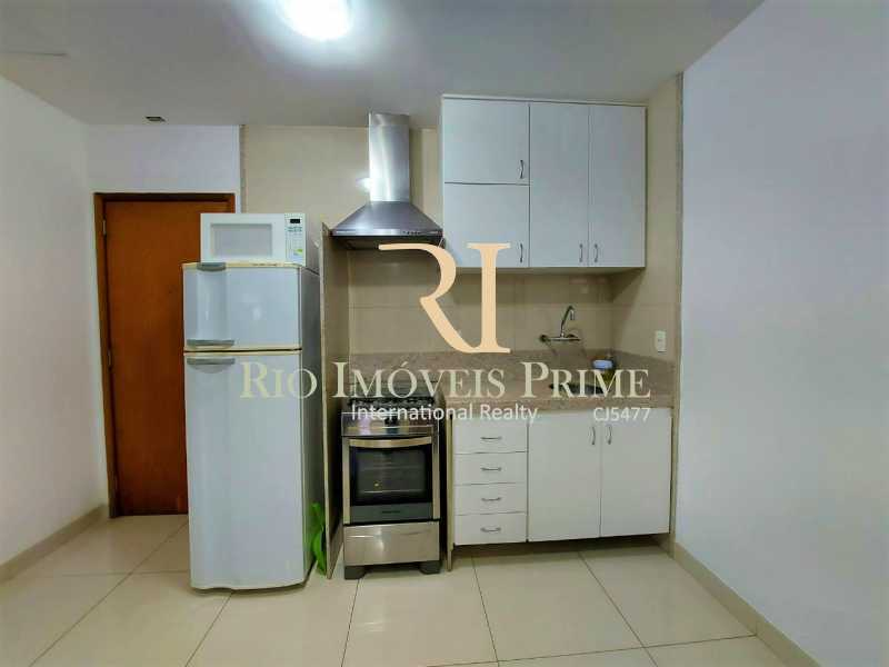 COZINHA. - Flat 1 quarto para alugar Leblon, Rio de Janeiro - R$ 4.200 - RPFL10109 - 8