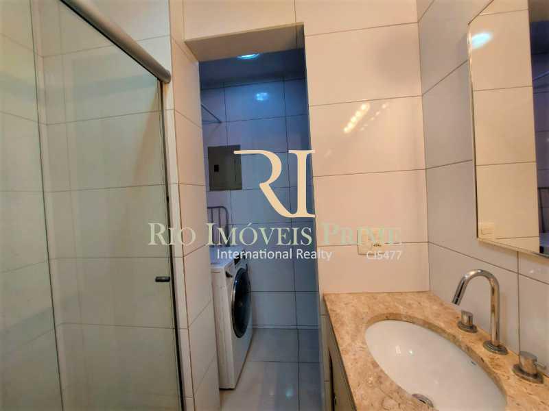 BANHEIRO. - Flat 1 quarto para alugar Leblon, Rio de Janeiro - R$ 4.200 - RPFL10109 - 13