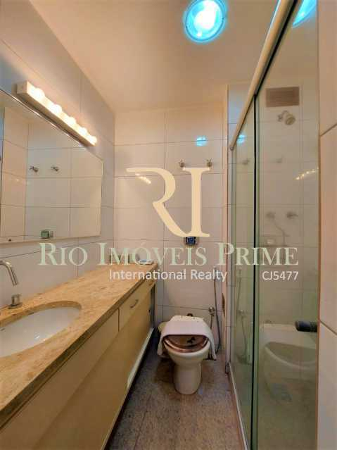 BANHEIRO. - Flat 1 quarto para alugar Leblon, Rio de Janeiro - R$ 4.200 - RPFL10109 - 14