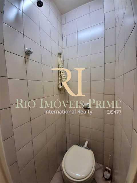 BANHEIRO DE SERVIÇO - Apartamento à venda Rua André Cavalcanti,Santa Teresa, Rio de Janeiro - R$ 439.900 - RPAP20242 - 17