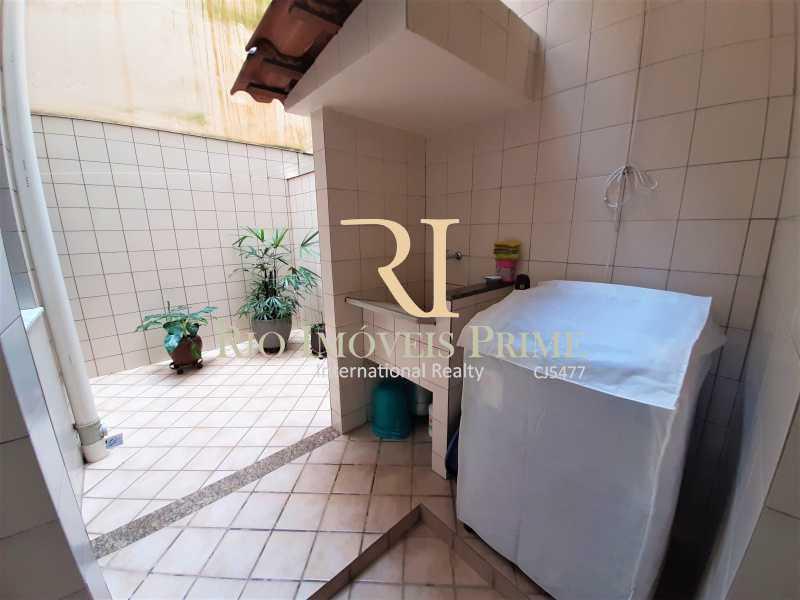 ÁREA DE SERVIÇO - Apartamento à venda Rua André Cavalcanti,Santa Teresa, Rio de Janeiro - R$ 439.900 - RPAP20242 - 18