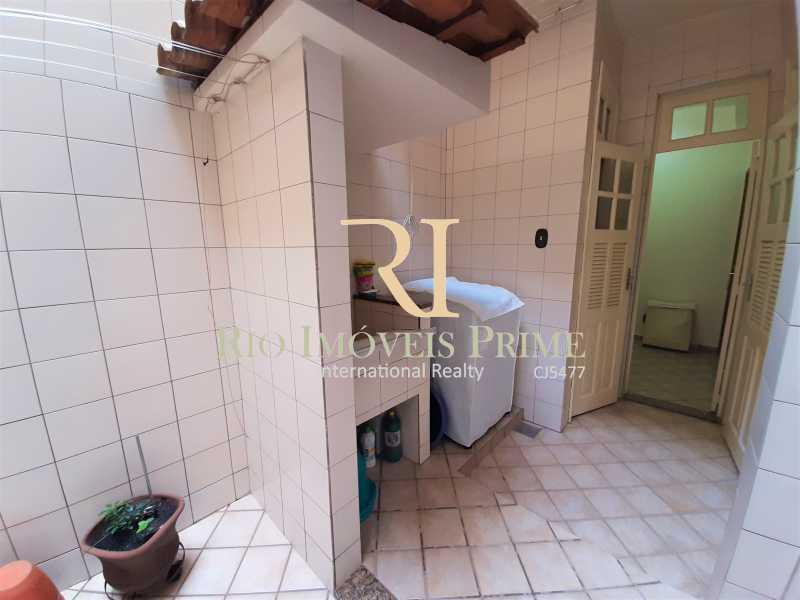 ÁREA DE SERVIÇO - Apartamento à venda Rua André Cavalcanti,Santa Teresa, Rio de Janeiro - R$ 439.900 - RPAP20242 - 19