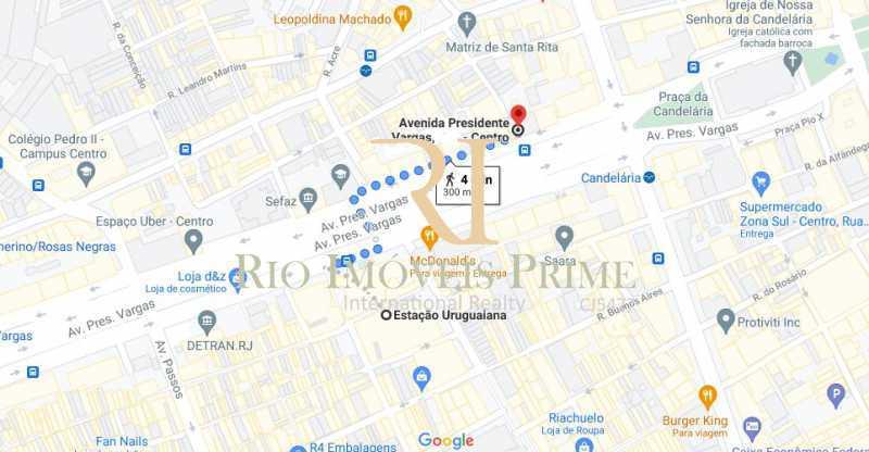 DISTÂNCIA METRÔ - Sala Comercial 57m² à venda Centro, Rio de Janeiro - R$ 229.999 - RPSL00027 - 16