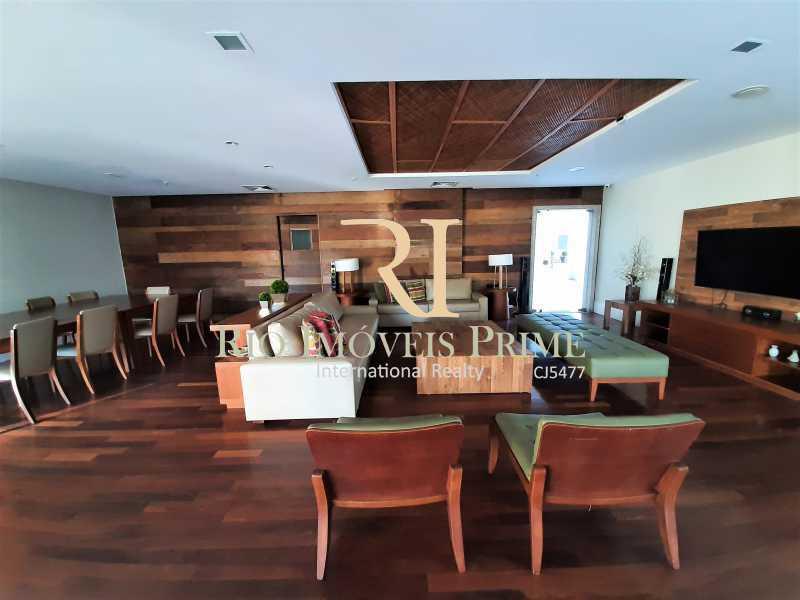 3 SALÕES DE FESTAS - Apartamento 3 quartos à venda Barra da Tijuca, Rio de Janeiro - R$ 1.590.000 - RPAP30157 - 31