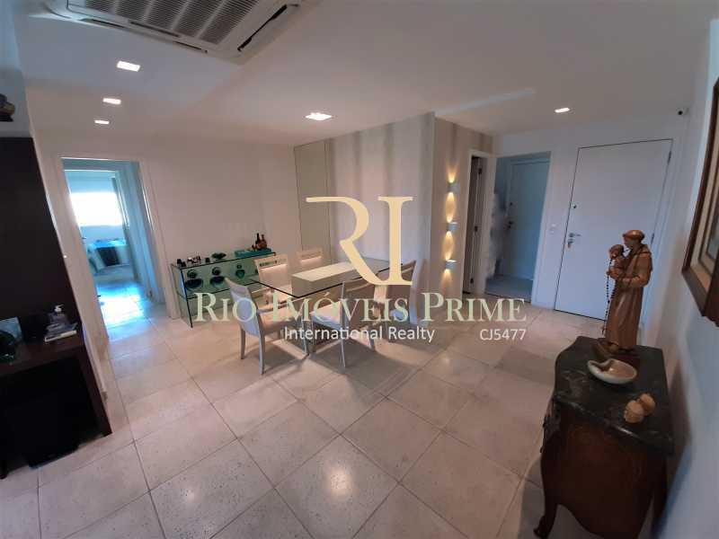 SALA DE JANTAR - Apartamento 3 quartos à venda Barra da Tijuca, Rio de Janeiro - R$ 1.590.000 - RPAP30157 - 4