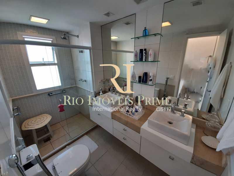 BANHEIRO SUÍTE - Apartamento 3 quartos à venda Barra da Tijuca, Rio de Janeiro - R$ 1.590.000 - RPAP30157 - 8