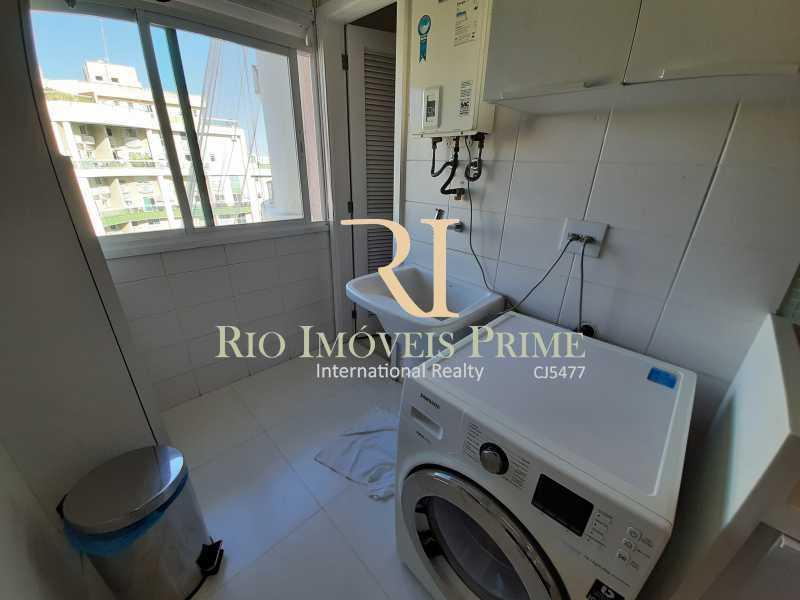 ÁREA DE SERVIÇO - Apartamento 3 quartos à venda Barra da Tijuca, Rio de Janeiro - R$ 1.590.000 - RPAP30157 - 16