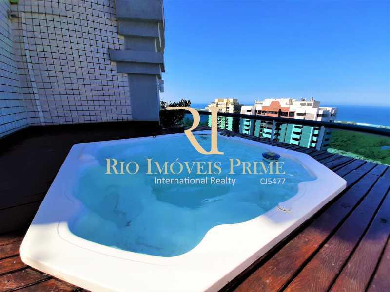 PISCINA - Cobertura 4 quartos à venda Barra da Tijuca, Rio de Janeiro - R$ 2.799.999 - RPCO40019 - 1