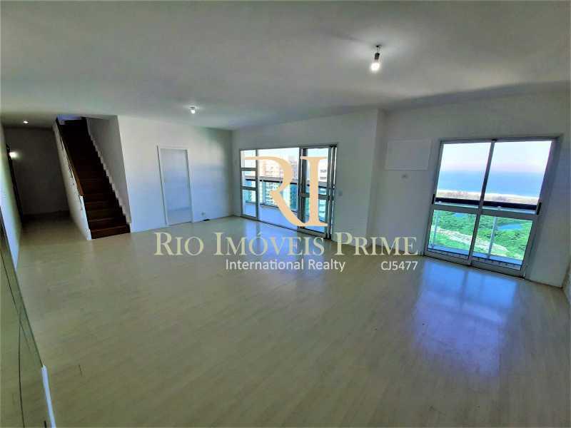 SALÃO - Cobertura 4 quartos à venda Barra da Tijuca, Rio de Janeiro - R$ 2.799.999 - RPCO40019 - 3
