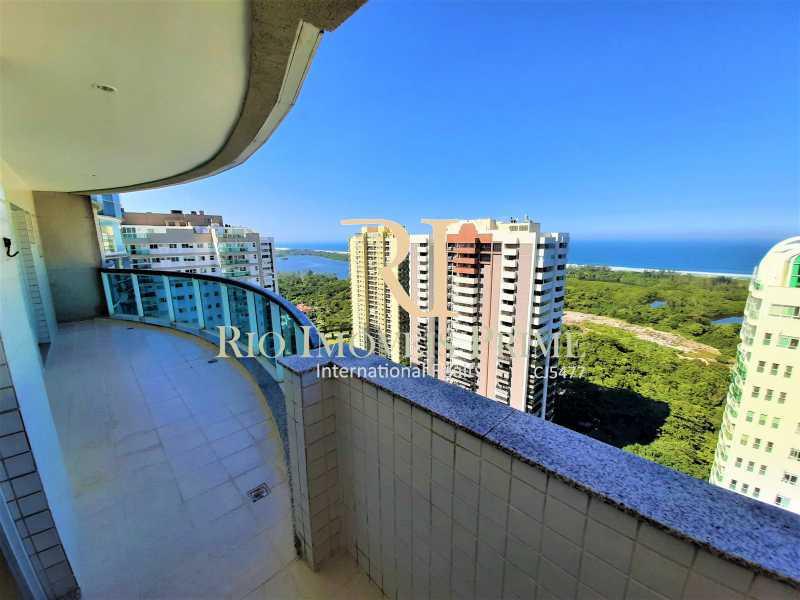 VARANDA SUÍTE MASTER - Cobertura 4 quartos à venda Barra da Tijuca, Rio de Janeiro - R$ 2.799.999 - RPCO40019 - 6