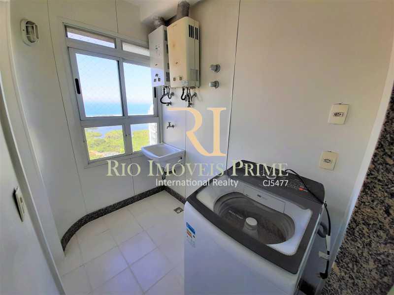 ÁREA DE SERVIÇO - Cobertura 4 quartos à venda Barra da Tijuca, Rio de Janeiro - R$ 2.799.999 - RPCO40019 - 16