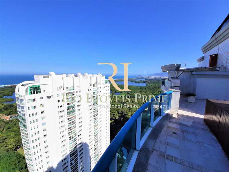 VISTA - Cobertura 4 quartos à venda Barra da Tijuca, Rio de Janeiro - R$ 2.799.999 - RPCO40019 - 22