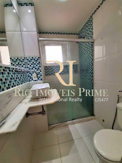 BANHEIRO SOCIAL - Apartamento 2 quartos à venda Tijuca, Rio de Janeiro - R$ 410.000 - RPAP20246 - 12
