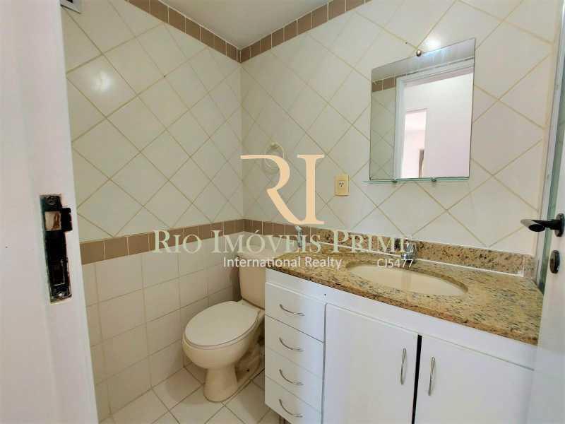 BANHEIRO SOCIAL. - Apartamento 2 quartos para alugar Praça da Bandeira, Rio de Janeiro - R$ 1.400 - RPAP20247 - 13