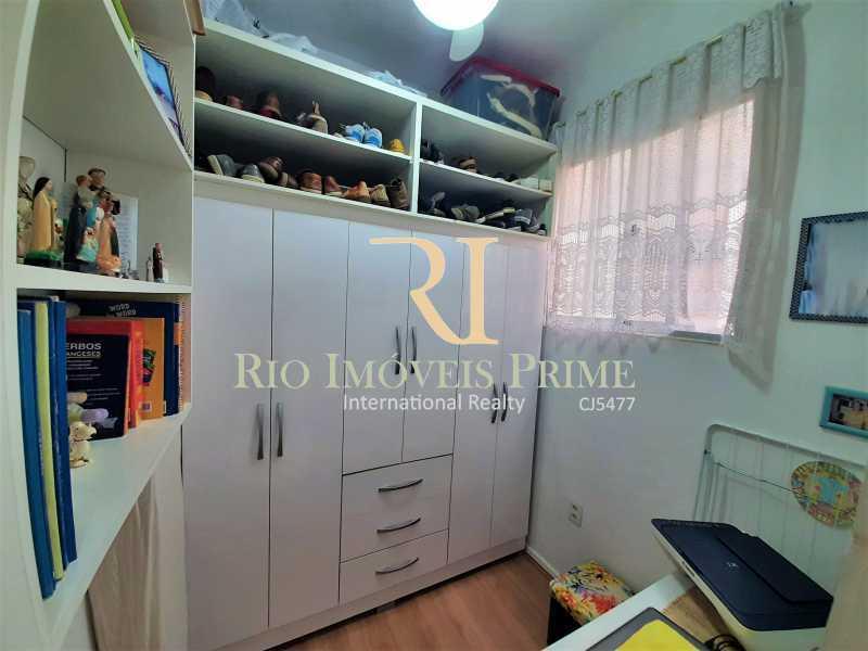 QUARTO DE SERVIÇO - Apartamento à venda Rua Visconde de Figueiredo,Tijuca, Rio de Janeiro - R$ 360.000 - RPAP10062 - 16