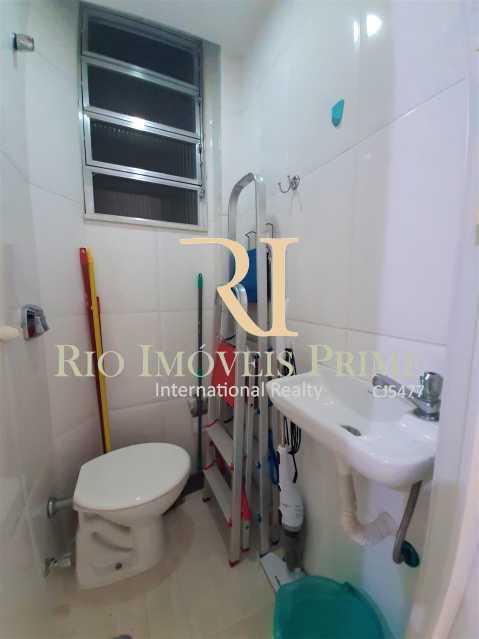 BANHEIRO DE SERVIÇO - Apartamento à venda Rua Visconde de Figueiredo,Tijuca, Rio de Janeiro - R$ 360.000 - RPAP10062 - 17