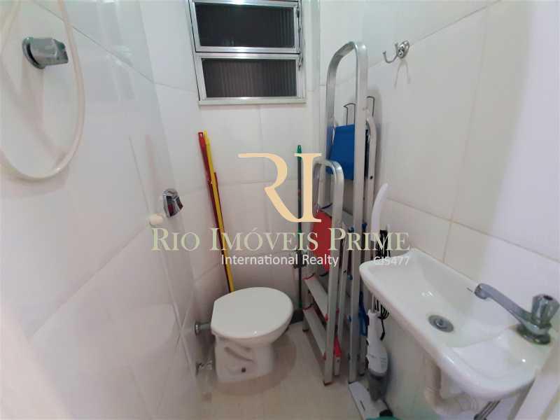 BANHEIRO DE DE SERVIÇO - Apartamento à venda Rua Visconde de Figueiredo,Tijuca, Rio de Janeiro - R$ 360.000 - RPAP10062 - 18