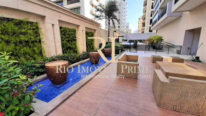LOUNGE EXTERNO - Flat 2 quartos para alugar Ipanema, Rio de Janeiro - R$ 13.000 - RPAP20249 - 21