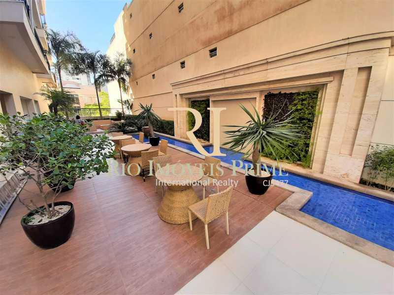 LOUNGE EXTERNO - Flat 2 quartos para alugar Ipanema, Rio de Janeiro - R$ 13.000 - RPAP20249 - 28