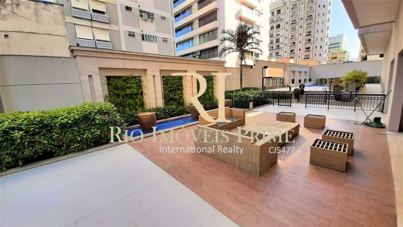 LOUNGE EXTERNO - Flat 2 quartos para alugar Ipanema, Rio de Janeiro - R$ 13.000 - RPAP20249 - 29