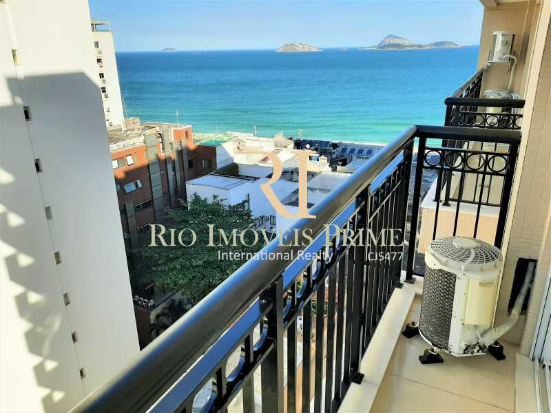 VARANDA - Flat 2 quartos para alugar Ipanema, Rio de Janeiro - R$ 13.000 - RPAP20249 - 1