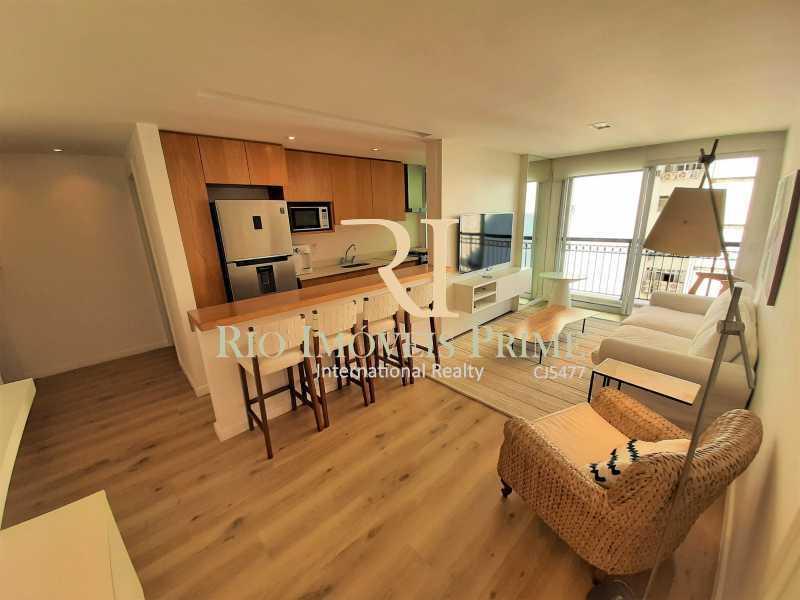 SALA - Flat 2 quartos para alugar Ipanema, Rio de Janeiro - R$ 13.000 - RPAP20249 - 3