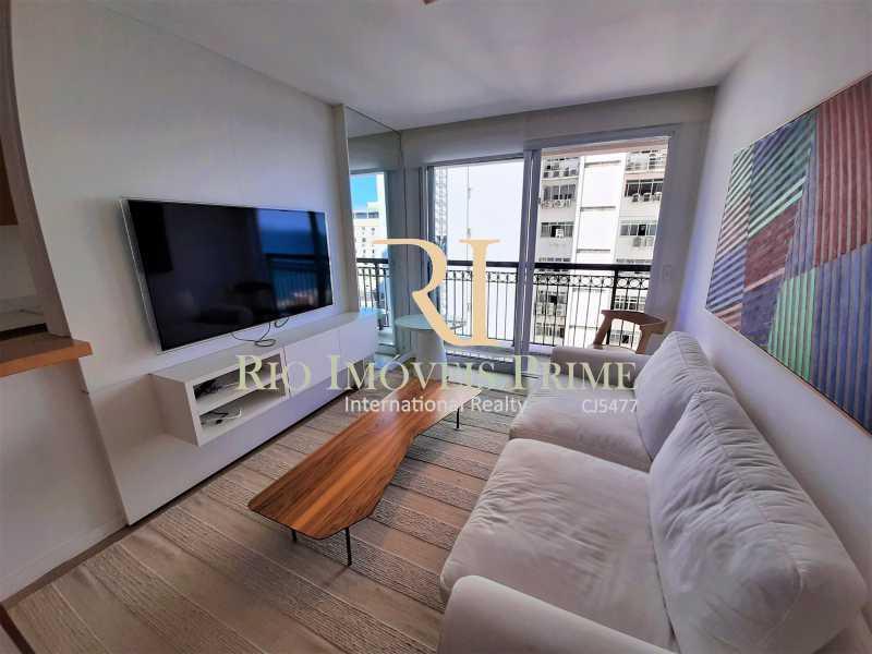 SALA DE ESTAR - Flat 2 quartos para alugar Ipanema, Rio de Janeiro - R$ 13.000 - RPAP20249 - 5