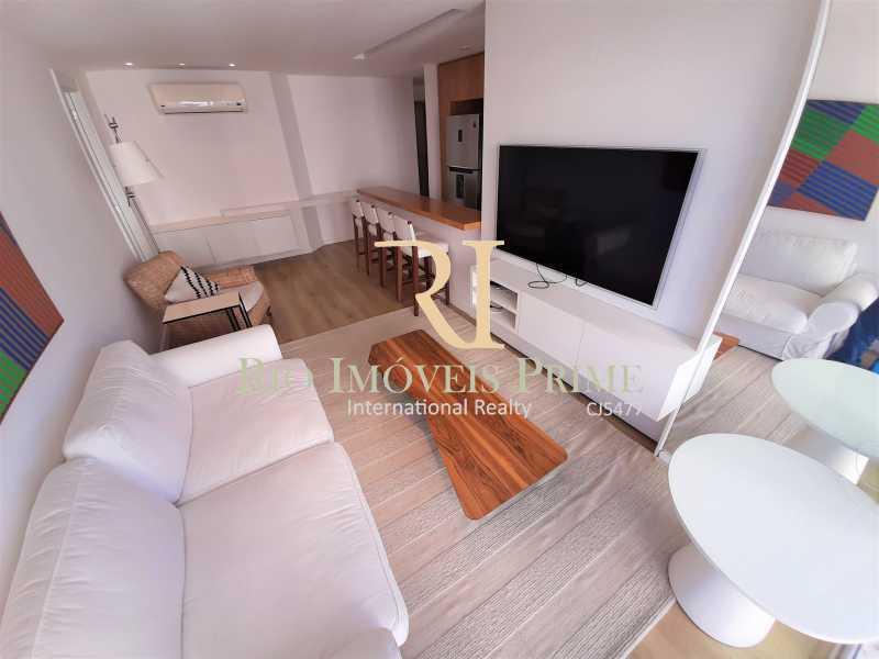 SALA DE ESTAR - Flat 2 quartos para alugar Ipanema, Rio de Janeiro - R$ 13.000 - RPAP20249 - 6