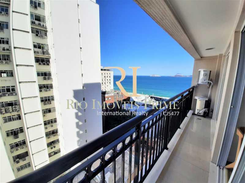 VARANDA SUÍTE1 - Flat 2 quartos para alugar Ipanema, Rio de Janeiro - R$ 13.000 - RPAP20249 - 13