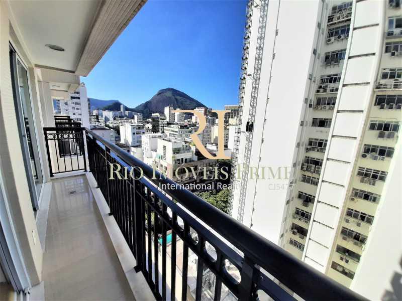 VARANDA SUÍTE1 - Flat 2 quartos para alugar Ipanema, Rio de Janeiro - R$ 13.000 - RPAP20249 - 14