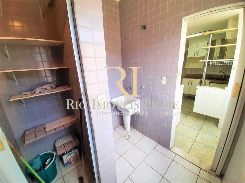 ÁREA DE SERVIÇO - Apartamento à venda Rua Nossa Senhora de Lourdes,Grajaú, Rio de Janeiro - R$ 300.000 - RPAP20250 - 20
