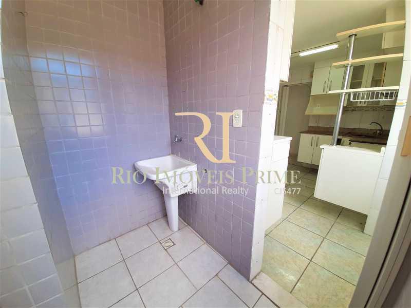 ÁREA DE SERVIÇO - Apartamento à venda Rua Nossa Senhora de Lourdes,Grajaú, Rio de Janeiro - R$ 300.000 - RPAP20250 - 21