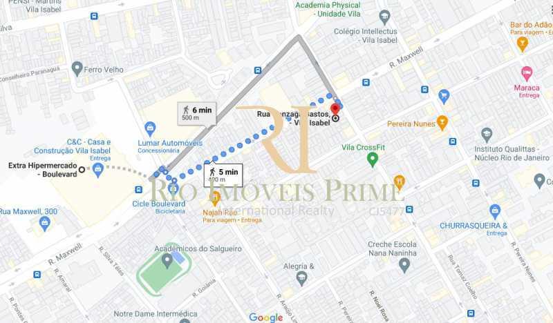 LOCALIZAÇÃO - Casa de Vila 2 quartos à venda Vila Isabel, Rio de Janeiro - R$ 350.000 - RPCV20005 - 22