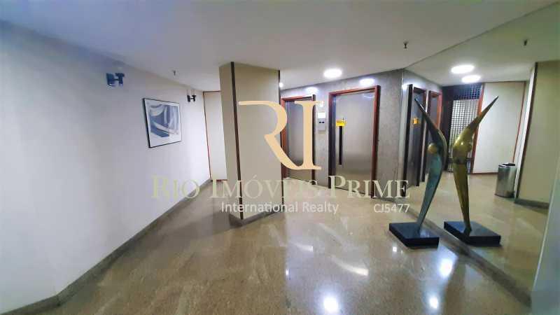 HALL ELEVADORES - Apartamento 1 quarto à venda Botafogo, Rio de Janeiro - R$ 750.000 - RPAP10063 - 29