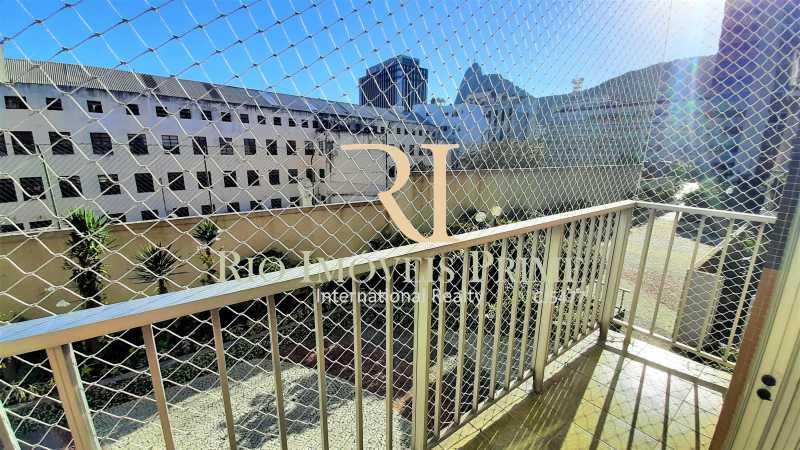 VARANDA - Apartamento 1 quarto à venda Botafogo, Rio de Janeiro - R$ 750.000 - RPAP10063 - 3