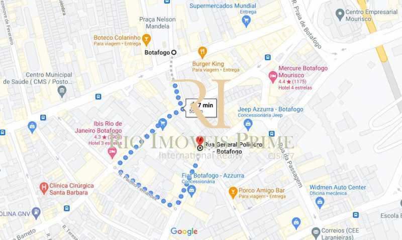 DISTÂNCIA METRÔ - Apartamento 1 quarto à venda Botafogo, Rio de Janeiro - R$ 750.000 - RPAP10063 - 15