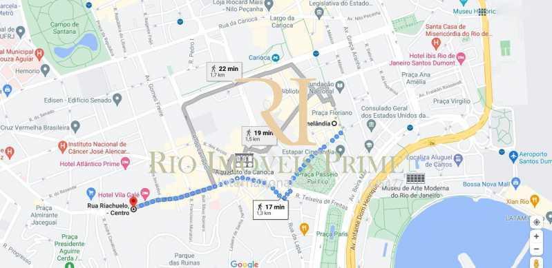 METRÔ CINELÂNDIA - Apartamento à venda Rua Riachuelo,Centro, Rio de Janeiro - R$ 309.900 - RPAP10064 - 19
