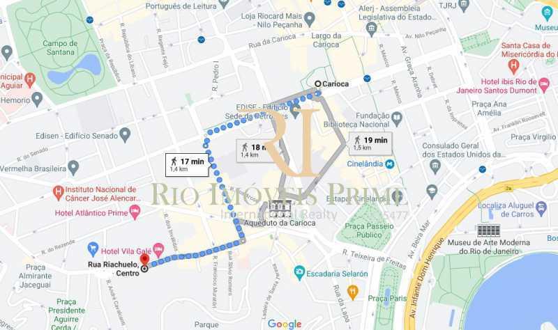 METRÔ CARIOCA - Apartamento à venda Rua Riachuelo,Centro, Rio de Janeiro - R$ 309.900 - RPAP10064 - 21