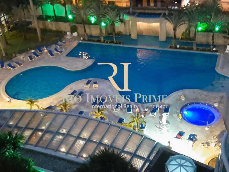 PARQUE AQUÁTICO - Flat 1 quarto à venda Barra da Tijuca, Rio de Janeiro - R$ 749.900 - RPFL10110 - 1